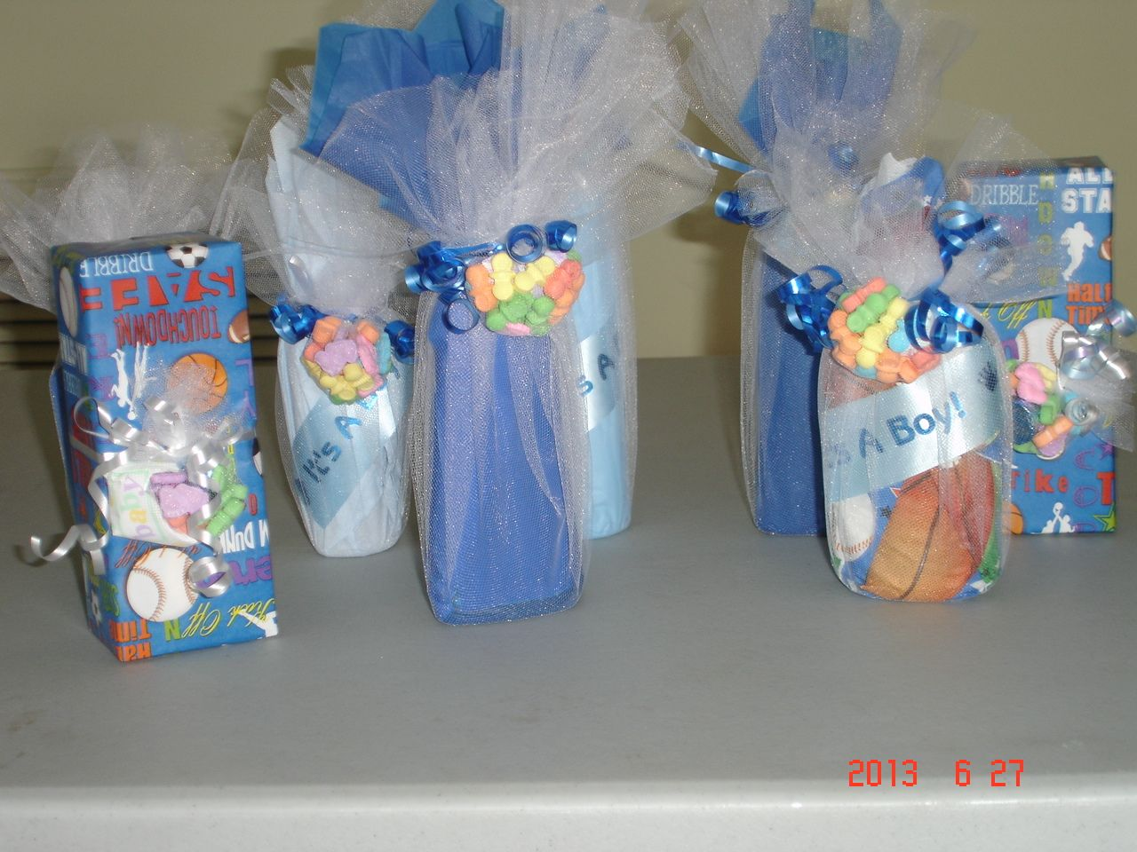 Baby Shower Gift Ideas Boy : Baby shower door prizes gift wrapping ideas