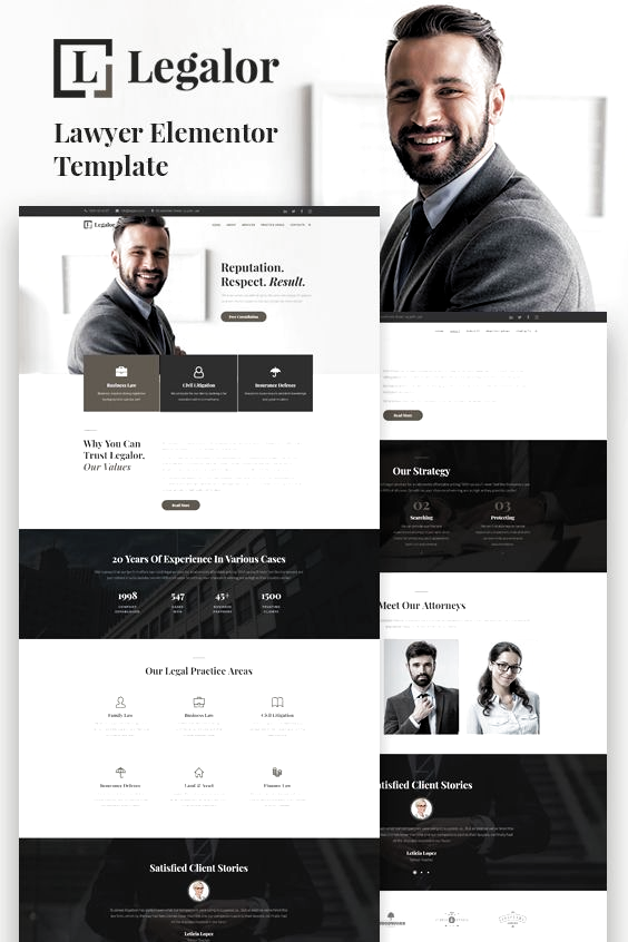 Lawyer Attorney Services Legal Consulting Business Website Design WordPress Template Theme Ag In 2020 Webseiten Inspiration Webdesign Inspiration Webdesign