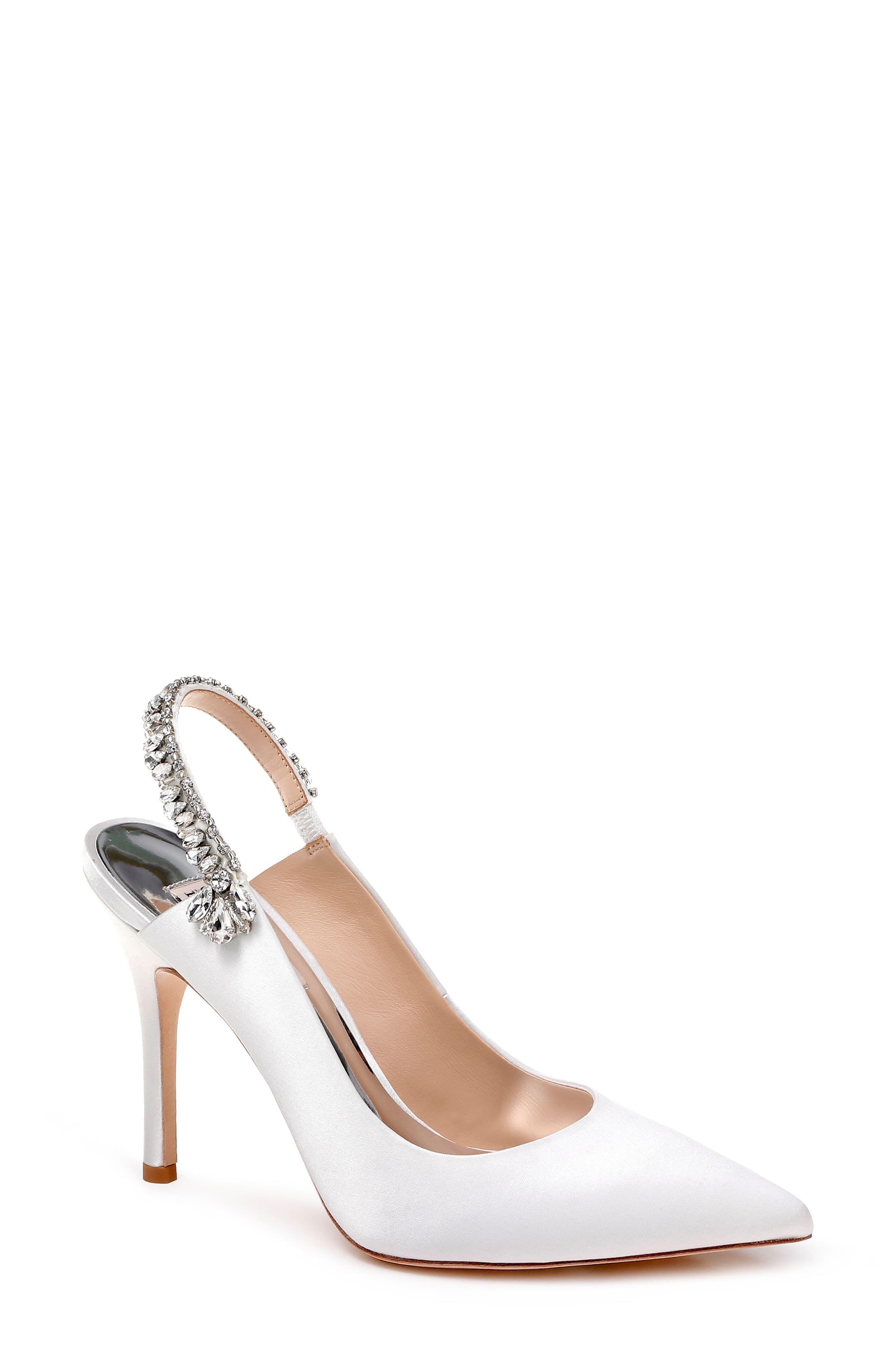 Slingback pump, Bridal shoes