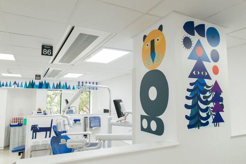 Neasden Control Center illustrates Royal London Hospital