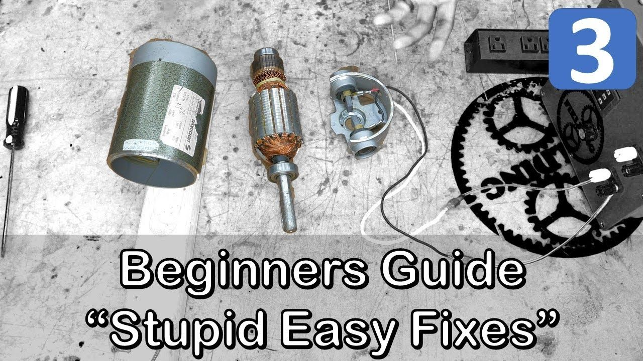 Three Most Common Motor Fixes Anyone Can Do; Ultimate
