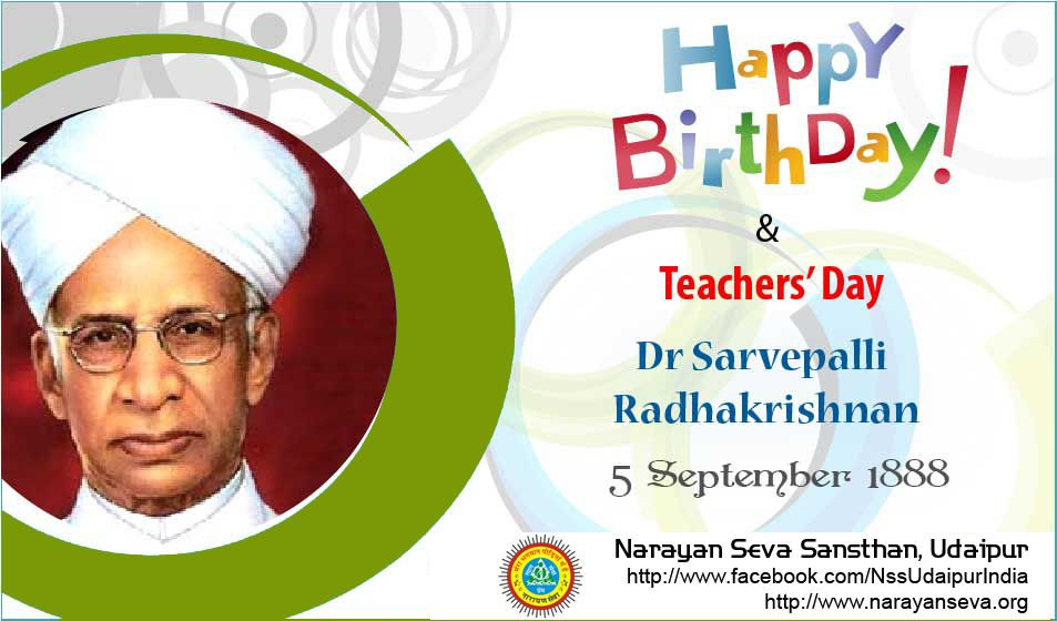 Happy Birthday Dr Radhakrishnan Happy Teachers Day To All Teachersday Radhakrishnan Visit Ou Happy Teachers Day Teachers Day Celebration Teachers Day