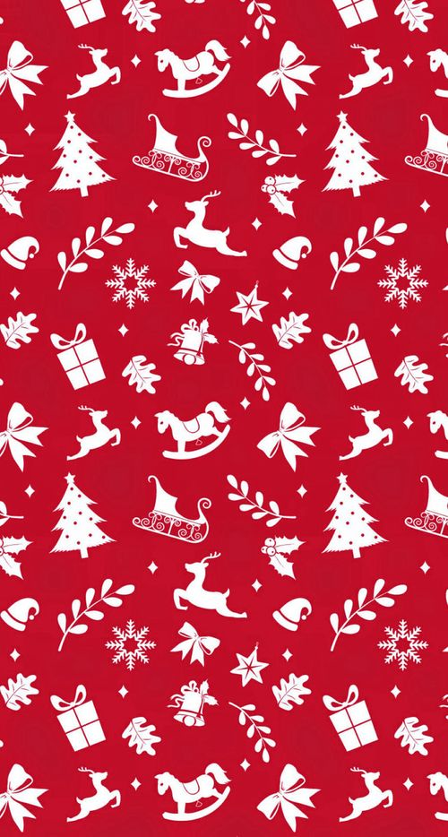 Uploaded By Alice Find Images And Videos About Red Christmas And Patterns On We Hear Wallpaper Iphone Christmas Christmas Phone Wallpaper Christmas Wallpaper