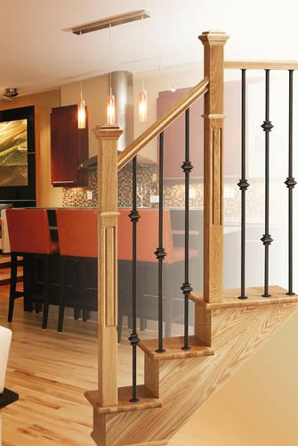 Best Mastercraft® 12 Step Unfinished Oak Staircase System With 400 x 300