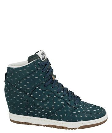 best service 4c573 1bb4d Dunk Sky Hi Print! von Nike wedges shoes sneaker fashion engelhorn