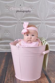 cute in a bucket