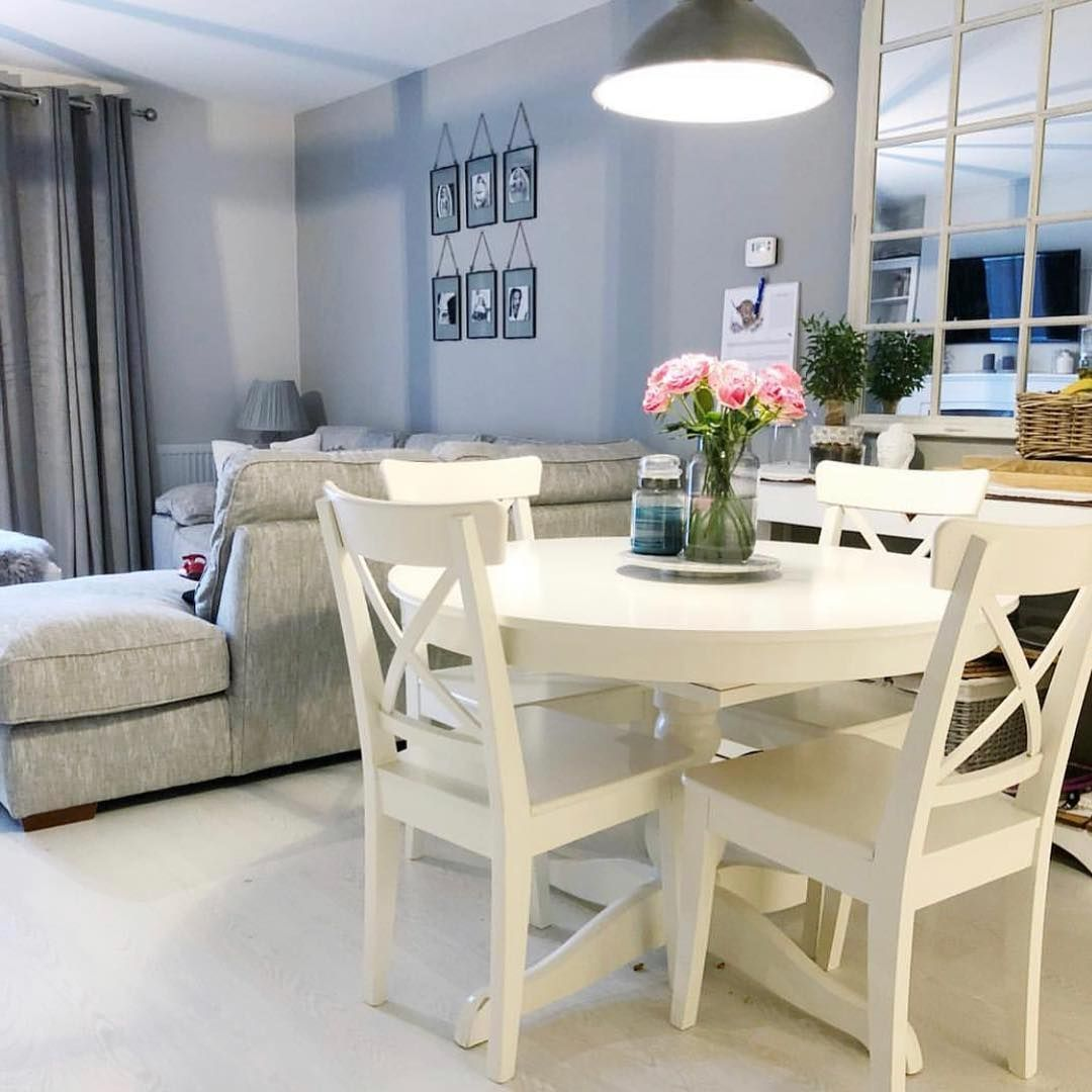 Ikea Uk On Instagram We Love How Townhouse On Elegance Has Combined The Ingatorp Table And Ingol In 2020 Ikea Round Dining Table Dining Room Combo Ikea Dining Table