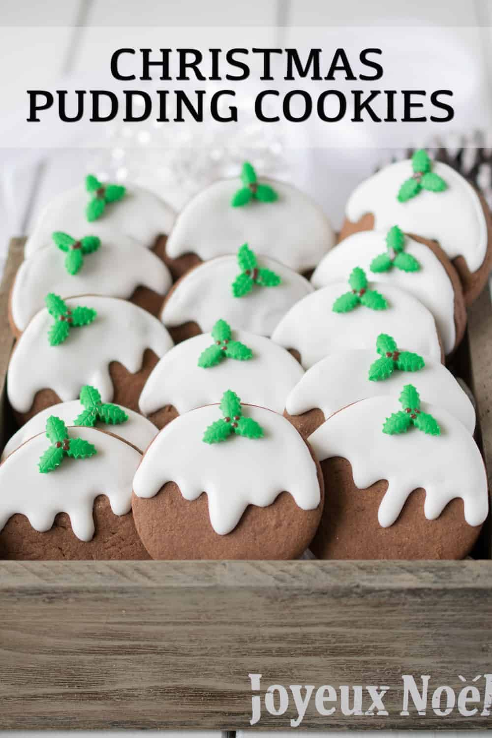 A Christmas Pudding Still A Tradition In England In 2020? Christmas Pudding Cookies | Recipe in 2020 | Christmas pudding