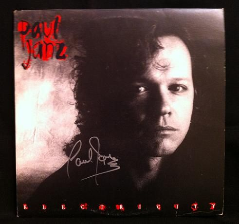 Paul Janz Hand Signed Record Album This Item Is A Paul Janz Hand Signed Promotional Record Cover The Sleeve Is In Exce Record Sleeves Records Music Artists