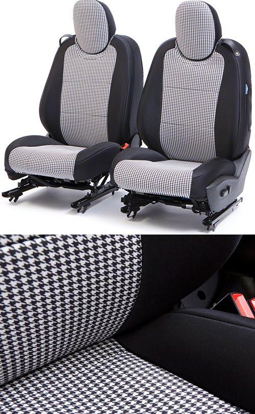 2010 2014 Camaro Houndstooth Seat Covers Camaro Accessories