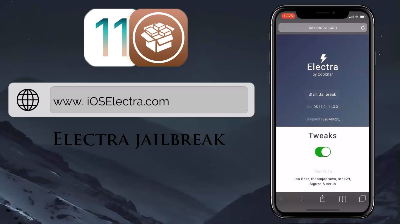 Jailbreak iOS 11 3 with New Electra [ Include Cydia