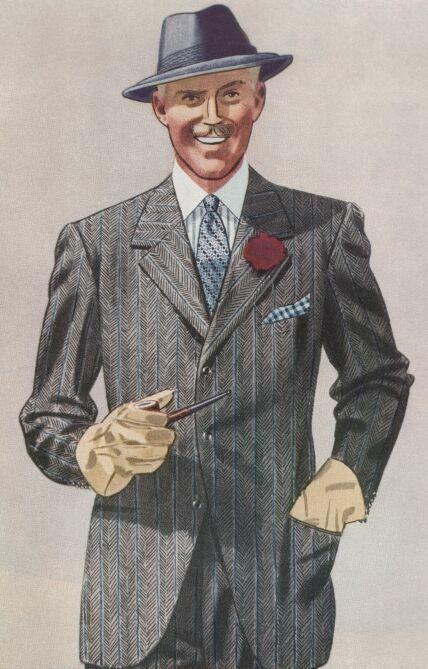 A Dapper 60 S Gentleman Fashion Illustration Vintage Mens Fashion Illustration Vintage Mens Fashion
