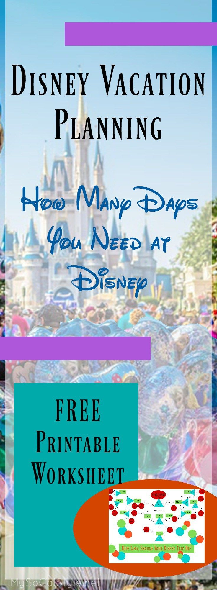 Disney World Planning Pt 2: How Long to Stay | The Pixie Dusted Planner
