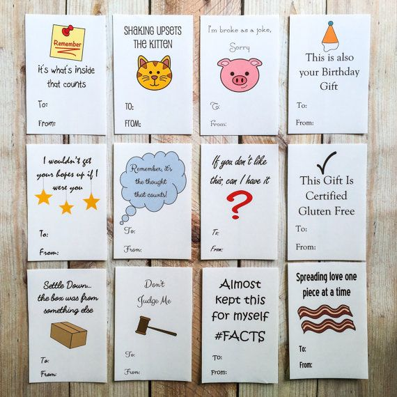 Funny Holiday Gift Tag Stickers Christmas To From Labels Gift Wrap Package Tag Funny Christmas Cards Diy Funny Holiday Gifts Holiday Gift Tags