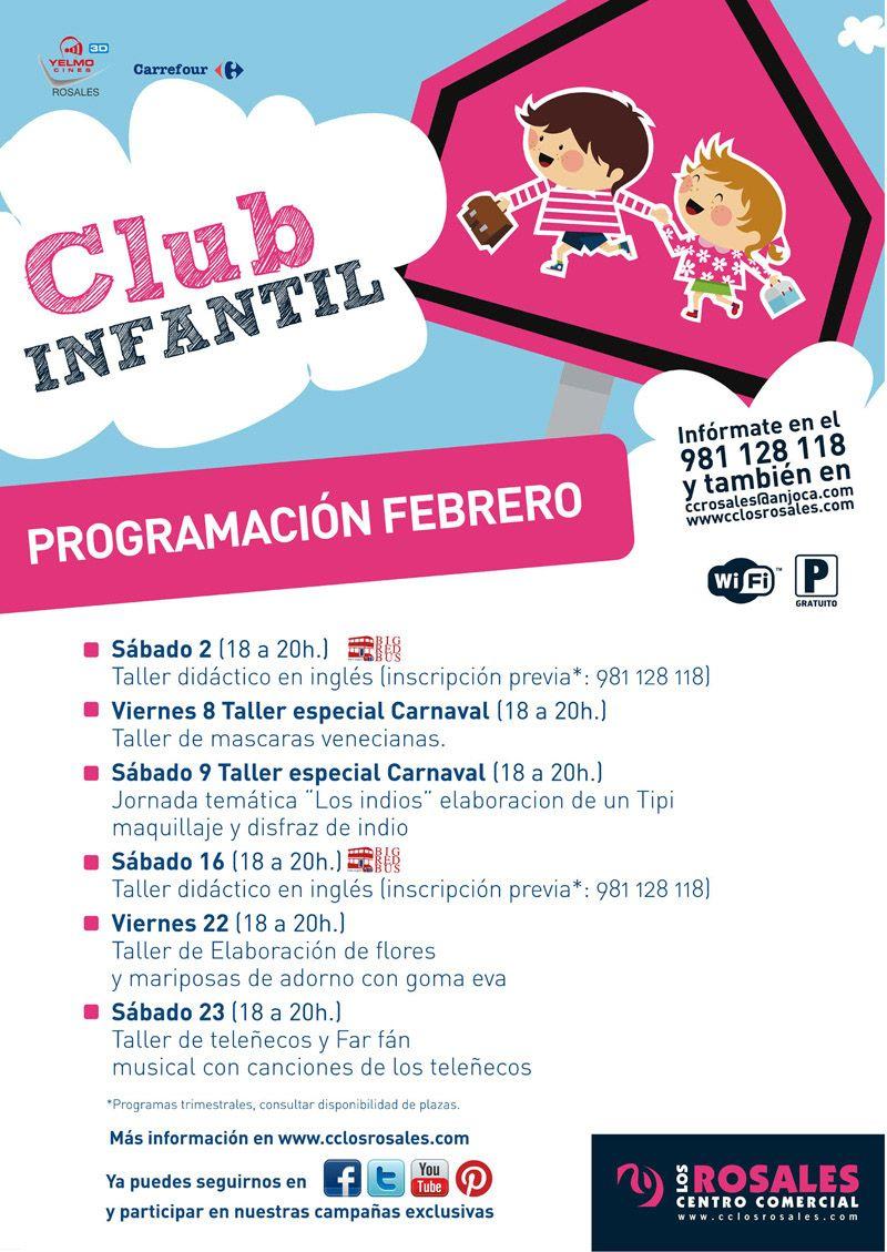 Club infantil febrero