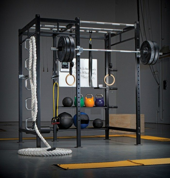 15 Home Gyms Worth Sweating In Need
