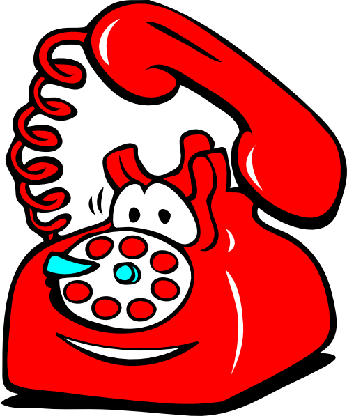 Telephone Clip Art Black And White | Clipart Panda - Free Clipart ...