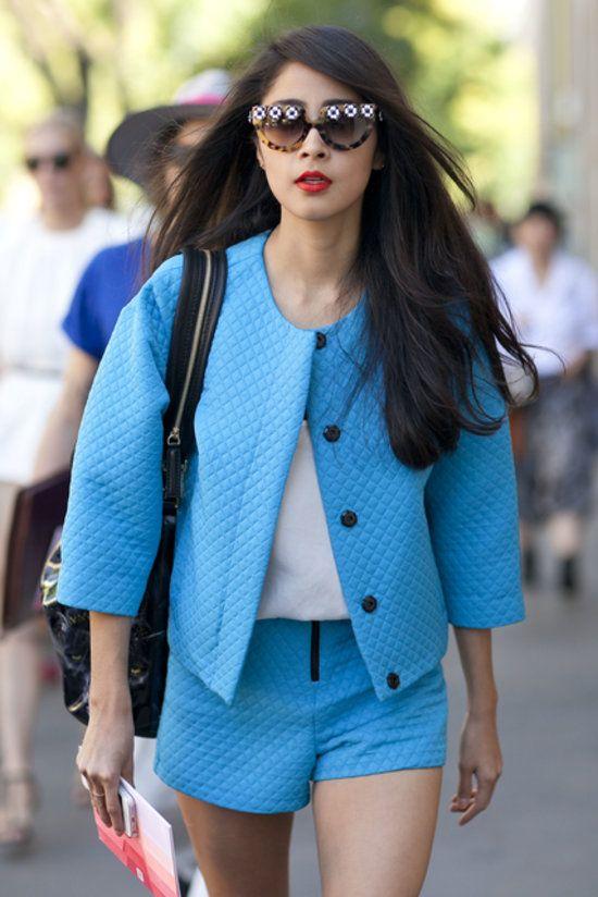 Milan Fashion Week. Details in street style - prada eyewear