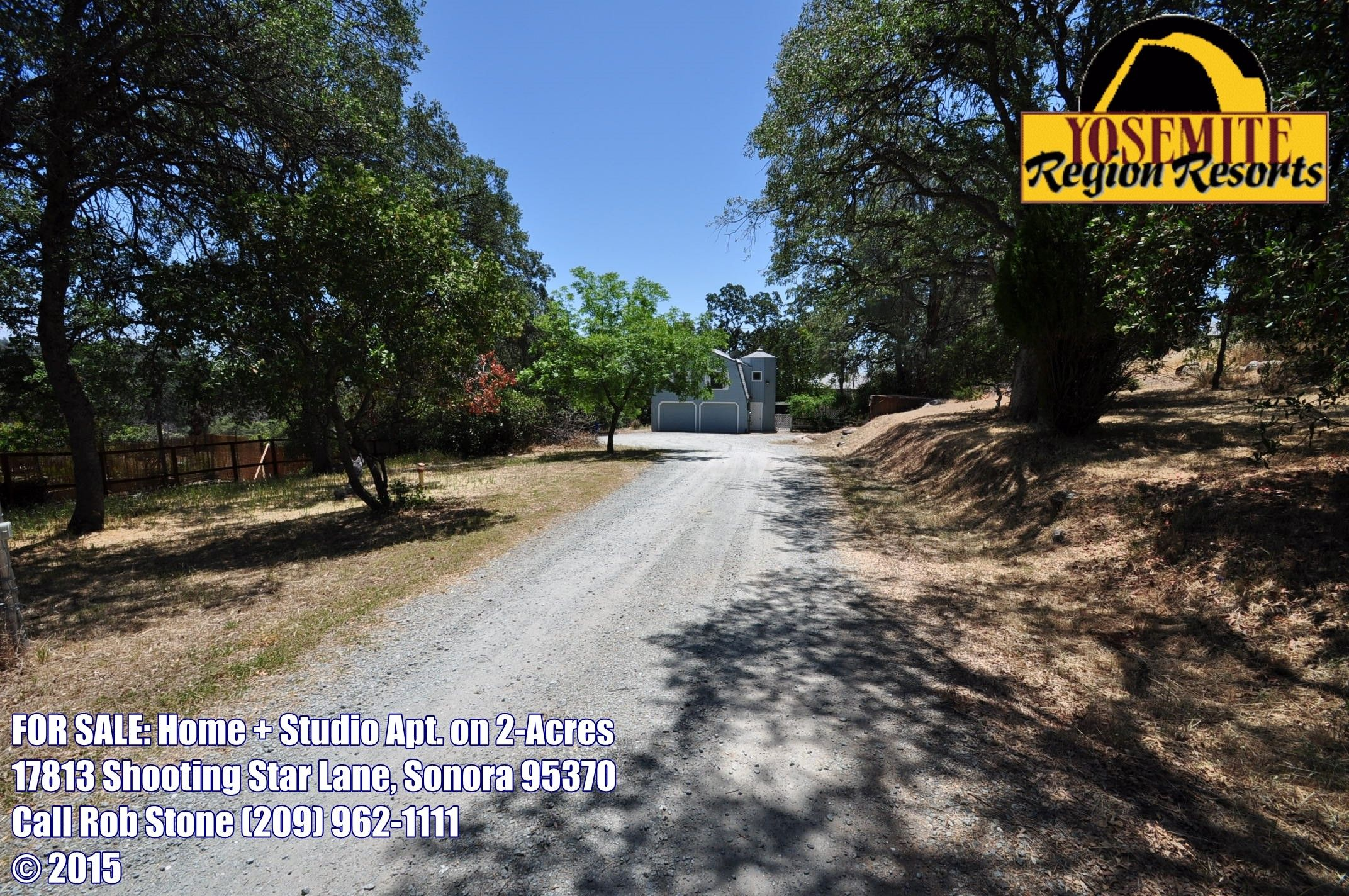 SOLD! HOME FOR SALE: ON 2-ACRES + STUDIO APARTMENT + MINE ...