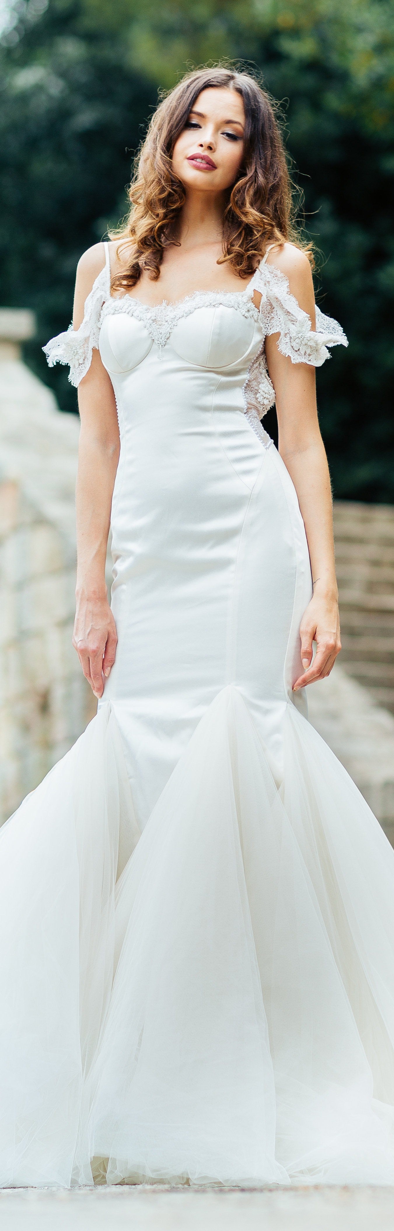 Diana exquisite wedding gowns pinterest tulle skirts galia