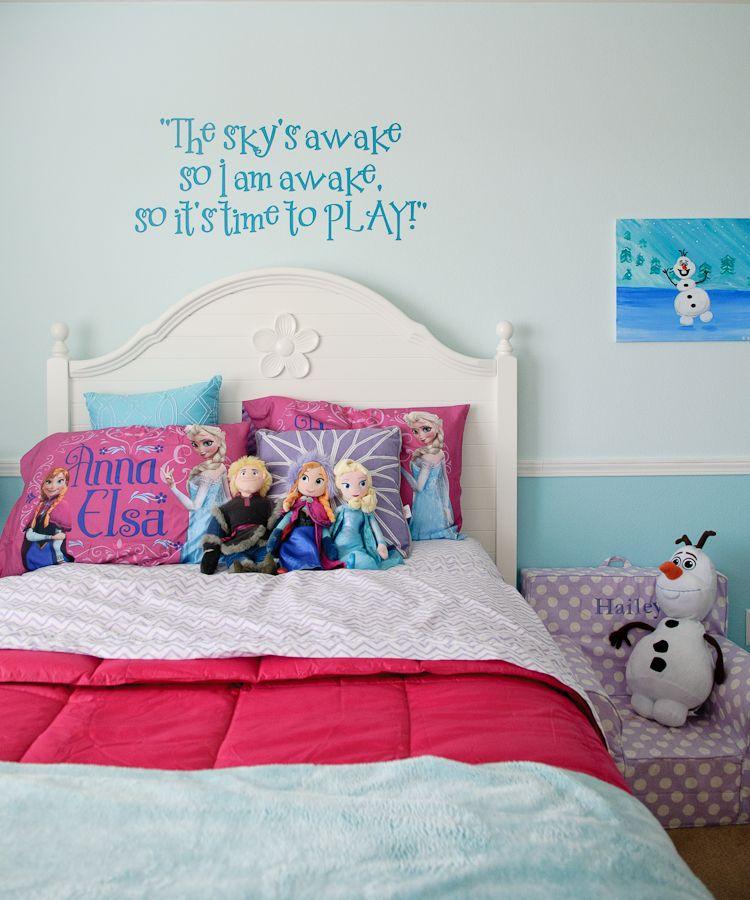 Frozen Themed Room Vinyl From Etsy Jkvinyl Design Frozen