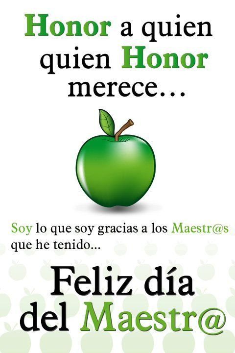 591492f0c6f48ca3068e40b002c455b1 Dia De Los Maestros Feliz Dia