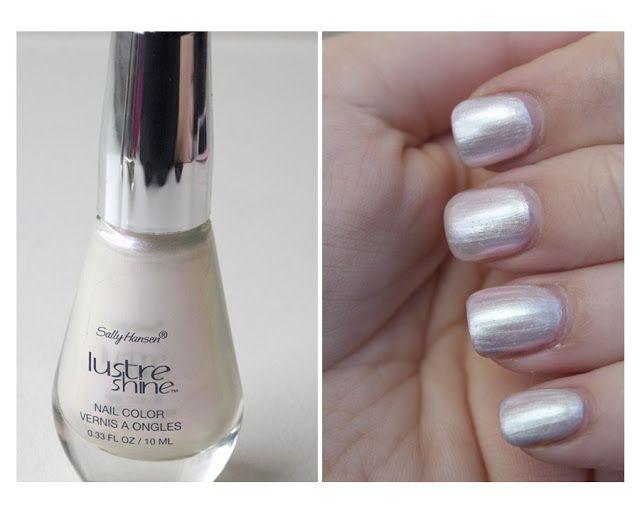 Sally Hansen Lustre Shine Nail Colour in \'Moonstone\' (001) | MakeUp ...