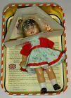Vintage 1998 Mariquita Perez Spanish  Doll 8 Inch Green Dress w/ Straw Cap #Doll #spanishdolls