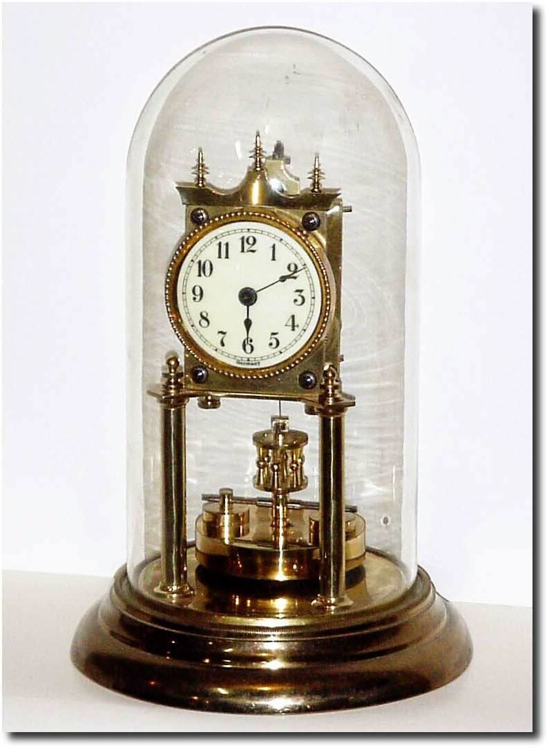 German Or Germany Shelf Anniversary Or 400 Day Antique Clock Retro Clock Vintage Clock Antique Clocks
