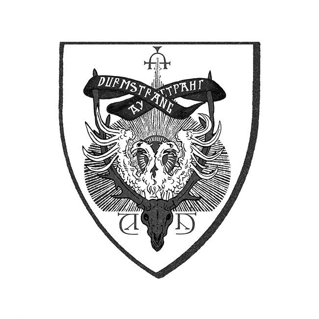 Durmstrang Institute This is a very nice house of magic durmstrang institute team crest patch. durmstrang institute
