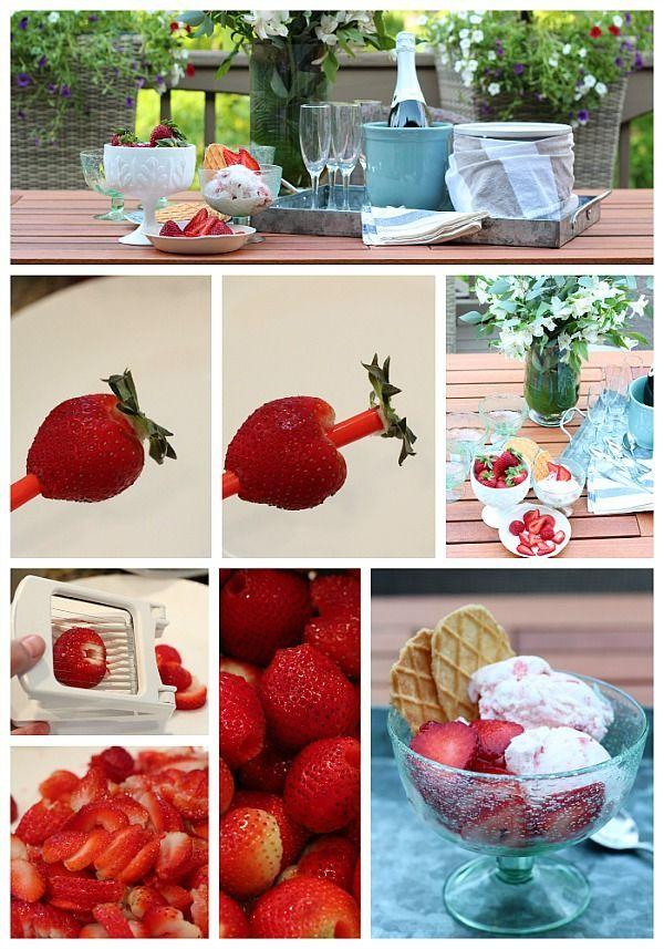 Homemade Strawberry Ice Cream Recipe   Refresh Restyle