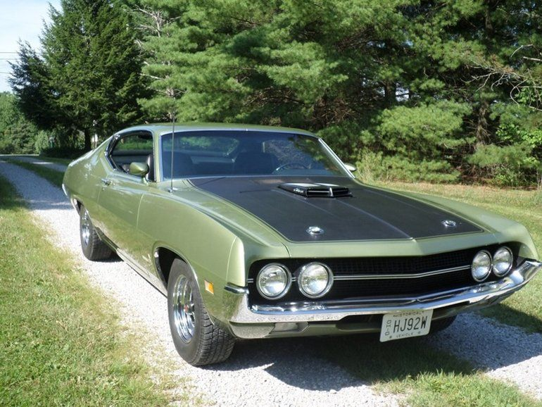 1970 Ford Torino Cobra 429 Scj Fastback With Images Ford