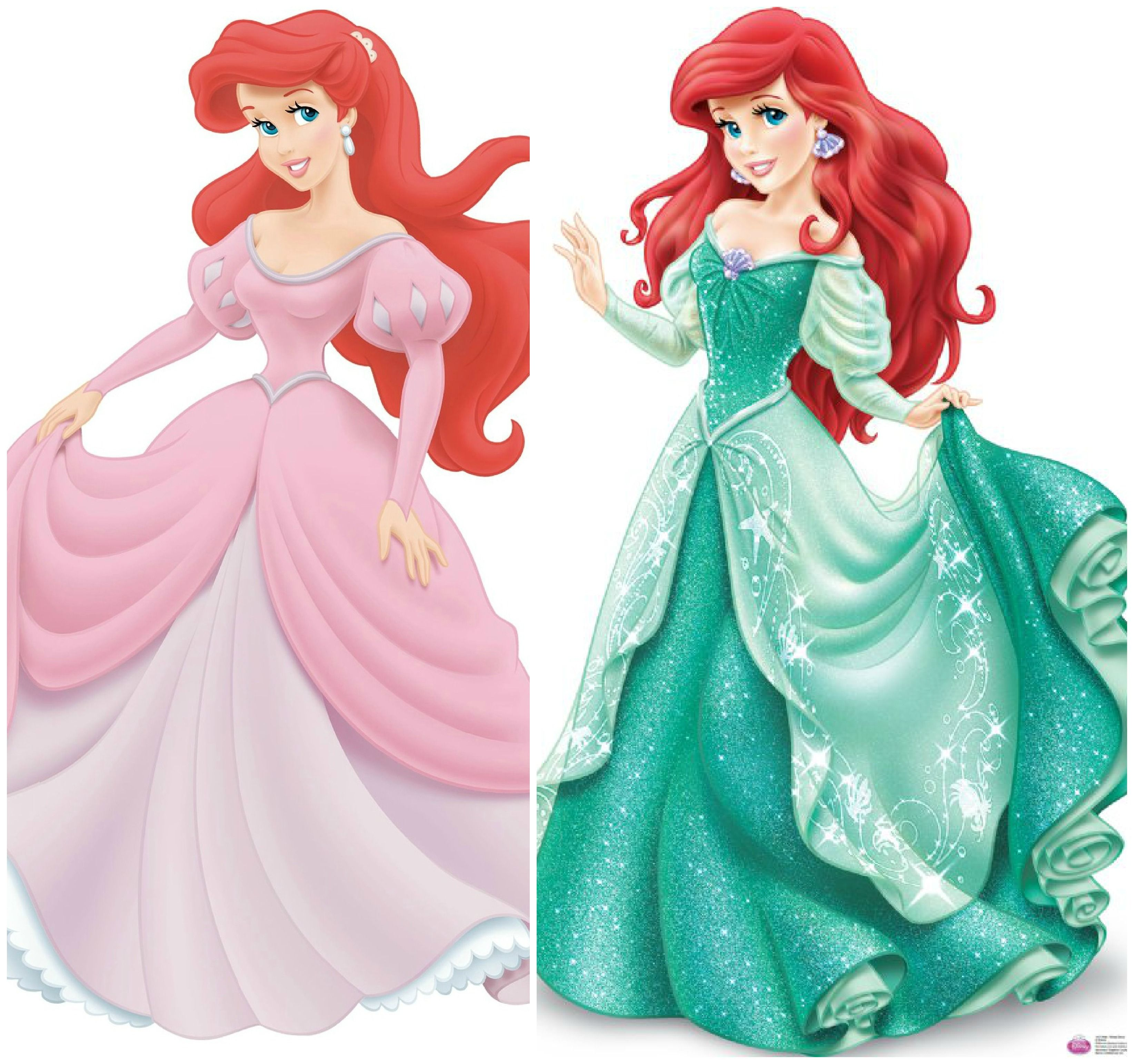 Images For > Ariel Pink Princess Dress | Bridesmaid Dresses ...
