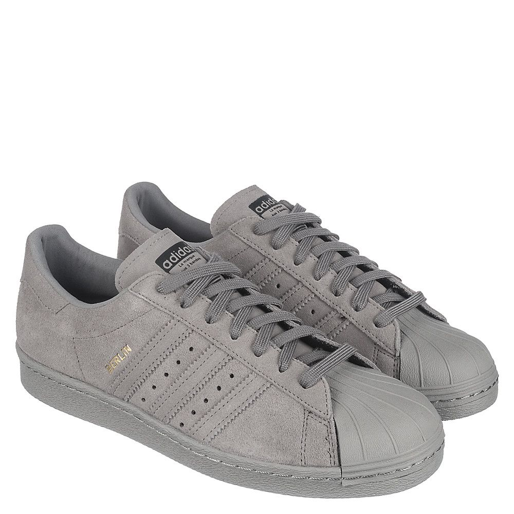 adidas superstar mens grey