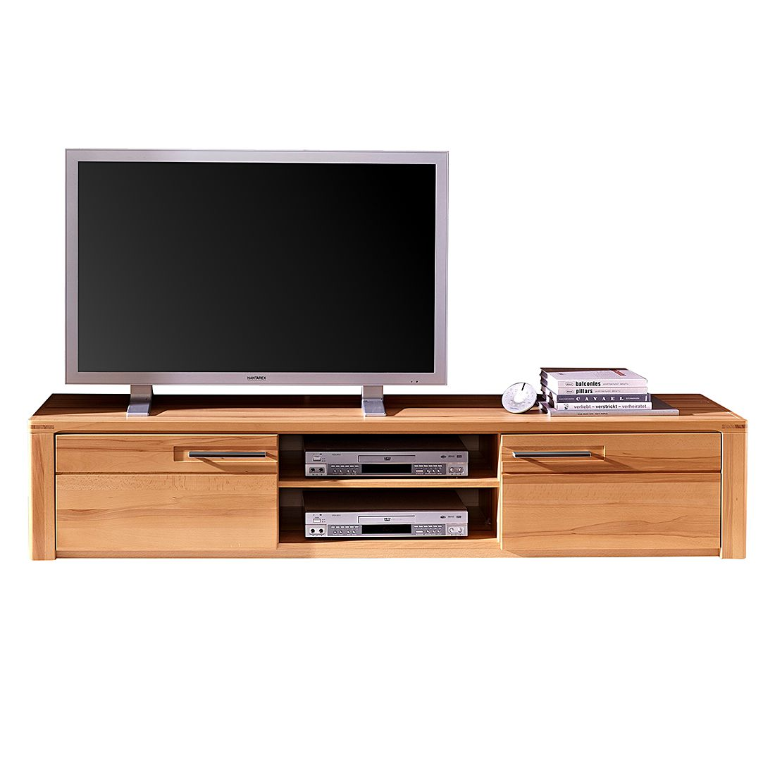 Meuble Tv Scandinave Gaby Sonoma Et Blanc Pin By Ladendirekt On Tv Hifi Möbel Cabinet Furniture