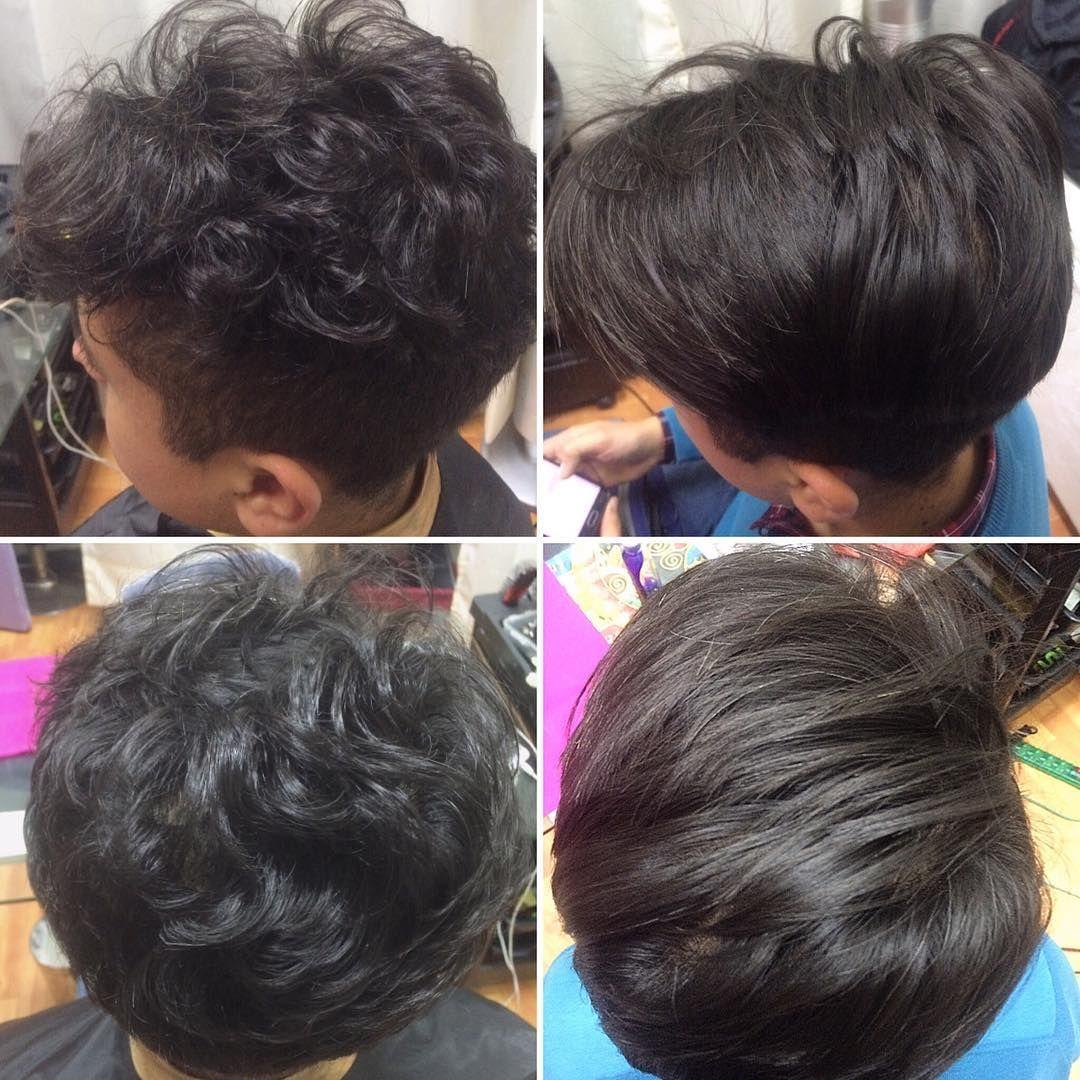 Cortes de cabello corto con keratina