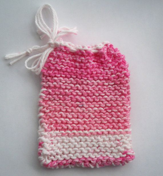 Hand Knitted Cotton Yarn Soap Saver By Sudsysuesoap On Etsy 500