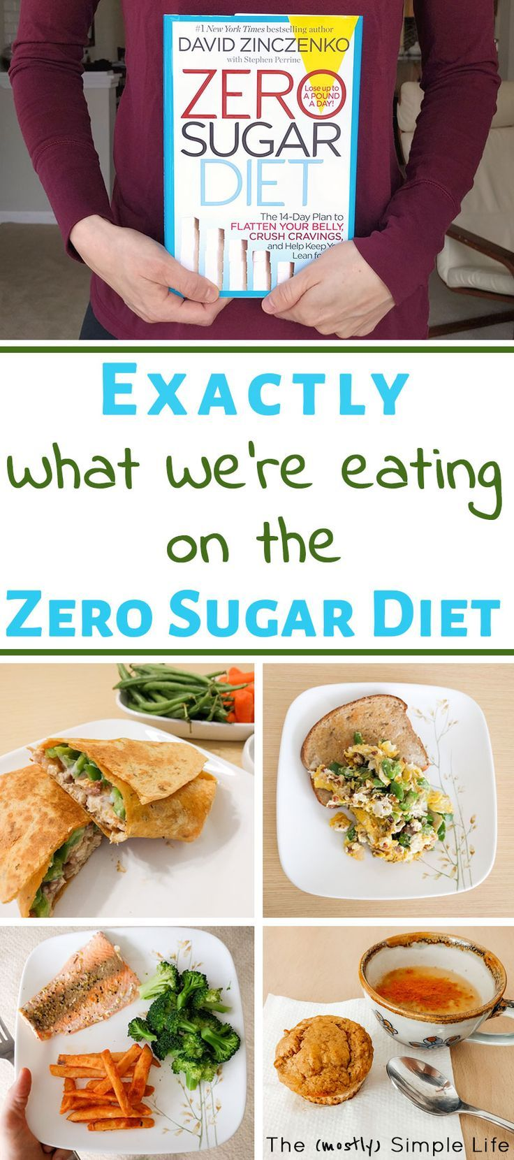 food pictures associated with the zero sugar diet