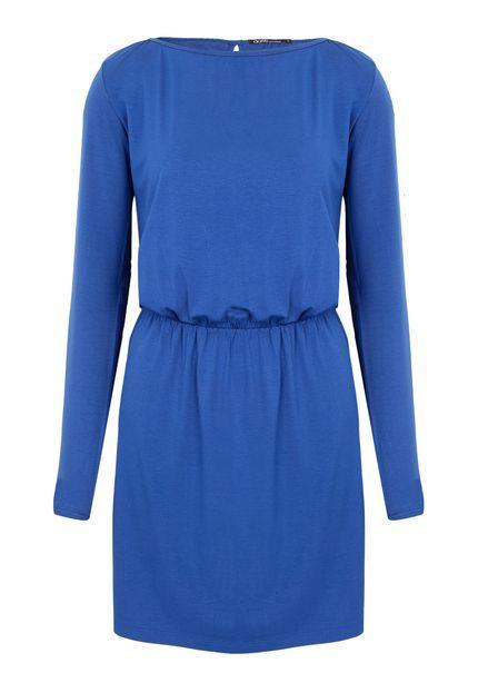 Vestido DAFITI ONTREND Azul - Compre Agora | Dafiti Brasil