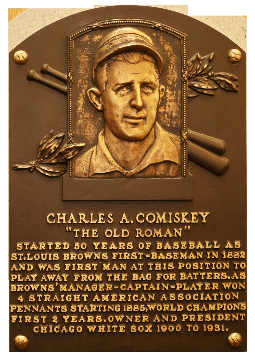 Photo of Charles Comiskey