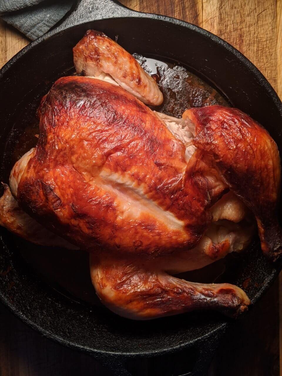 Buttermilk Marinated Whole Roast Chicken Walktoeat Recipe In 2020 Oven Chicken Chicken Recipes Roast Chicken