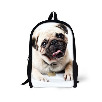 e9dfee180d FORUDESIGNS Large 16 Inch 3D Animal Women Backpack Cute Cat Dog Print Girls  School Backpack Kids Teenager Boys Back Pack Mochila