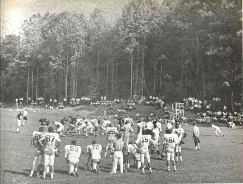 The Falcons First Training Camp In 1966 Held In Black Mountain Nc Riseup Atlanta Falcons Fans Atlanta Falcons Falcons