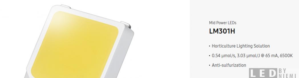 Samsung Announces LM301H Diode for Quantum Boards | LED Quantum