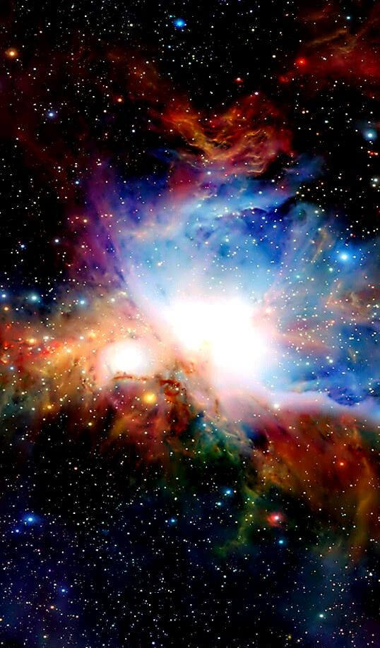 Huge Burst Of Star Formation The Orion Nebula Stars