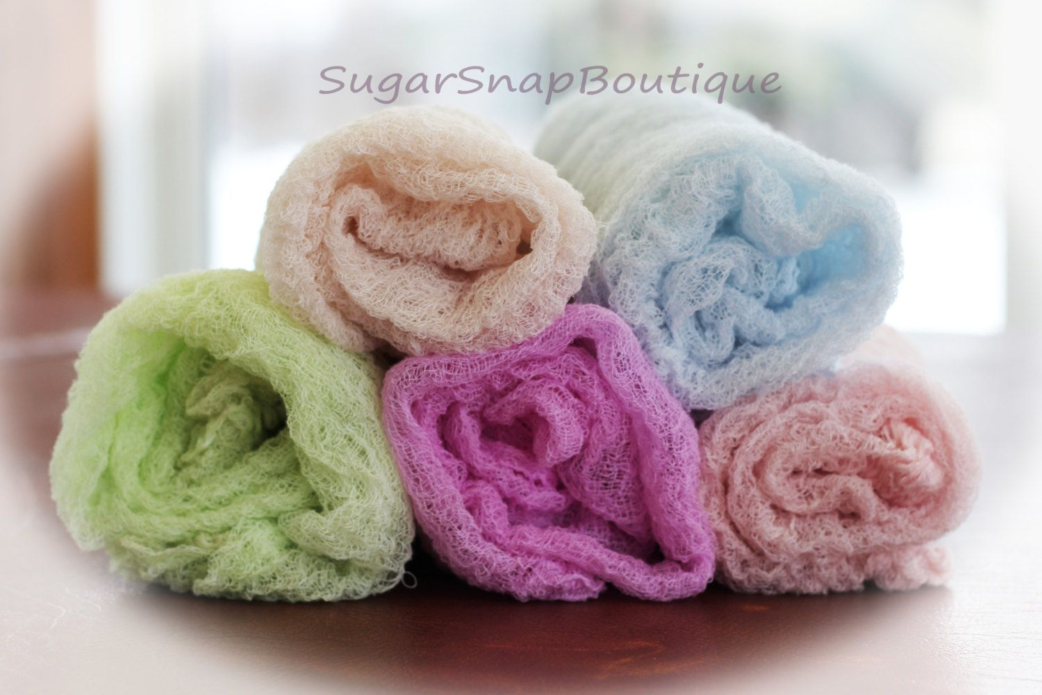 Cheesecloth Newborn Baby Photography Prop by SugarSnapBoutiques, $10.00