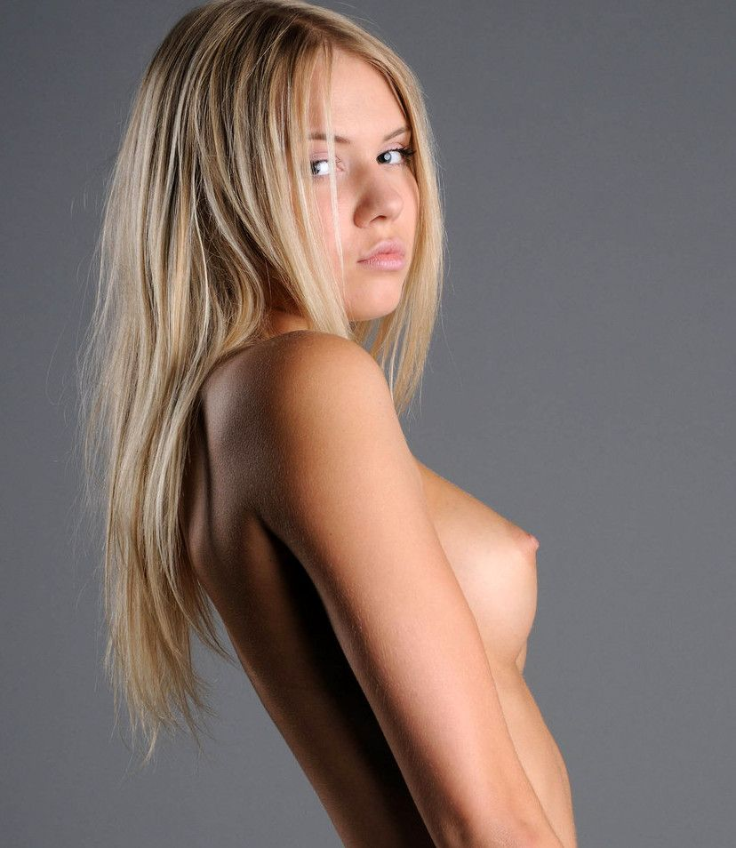 Tiny Tits Blonde Hot Teen 48