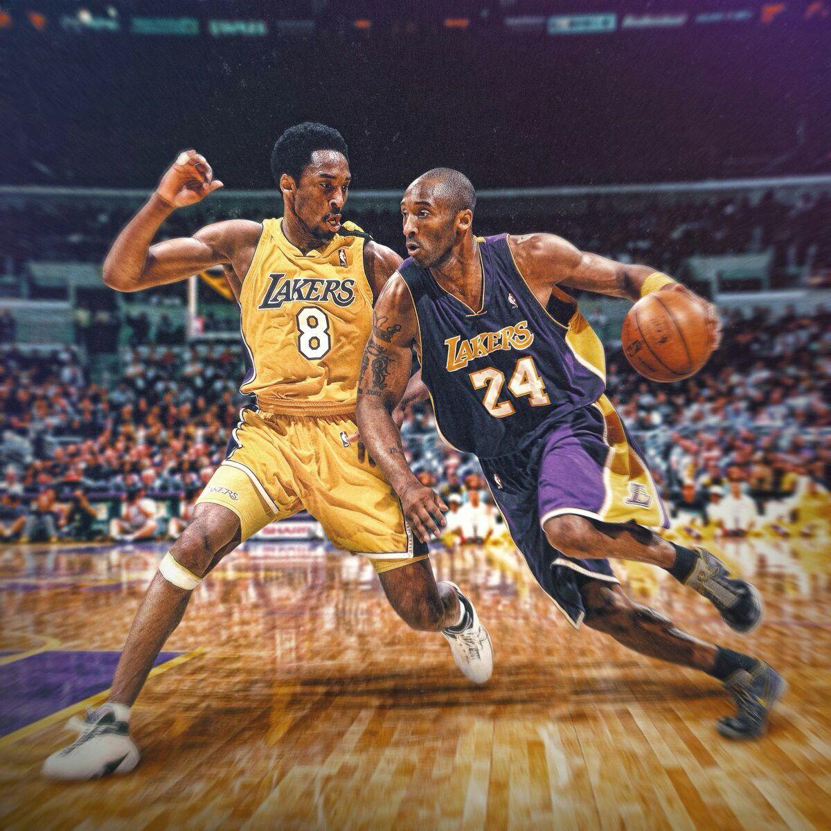 Kobe Vs Kobe Kobe Bryant Pictures Kobe Bryant Wallpaper Lakers Kobe