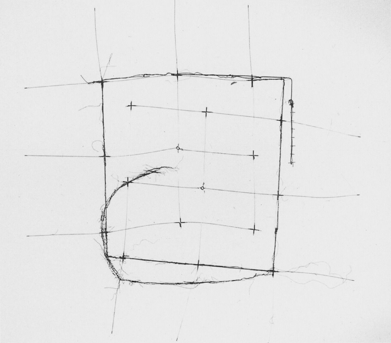Gego Drawing without paper (no.85/12) 1985 Stainless Steel