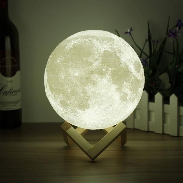 Best Moon Lamp Australia In 2020 Moon Light Lamp Moon Decor Dimmable Lamp
